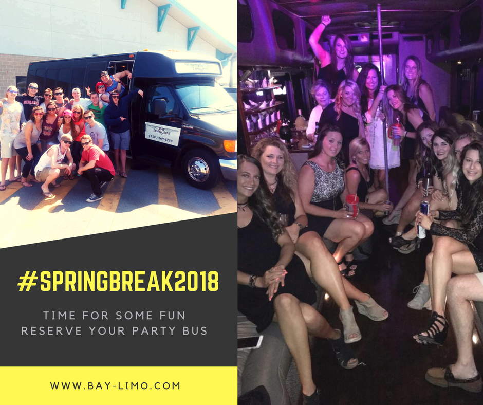 Panama City Beach - 30A - Sandestin Beach Party Bus Limos Spring Break