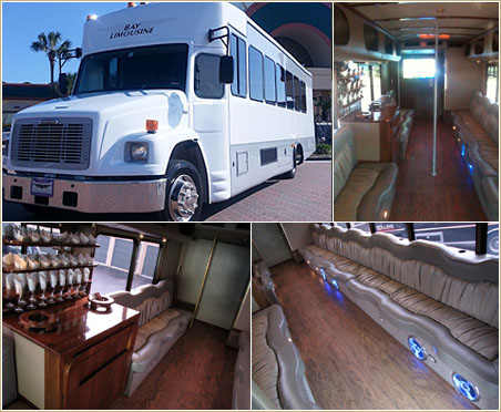 Party Bus Service & Charter Buses