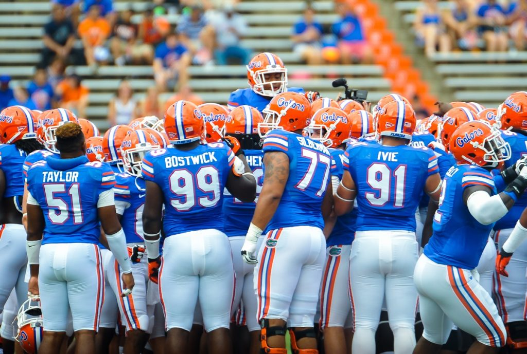 Florida Gators College Football Bay Limo Ride to the Game Style