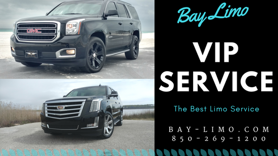 The Best Limo Fleet in the Panhandle Florida